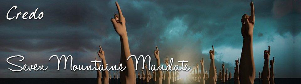 Read Credo, Seven Mountains Mandate, at  https://ethosinstitute.sg/seven-mountains-mandate  ….  #DominionTheology  #SevenMountainsMandate  #NAR  #Dominionism  #Reconstructionism  #Restorationism  #apostles  #prophets
