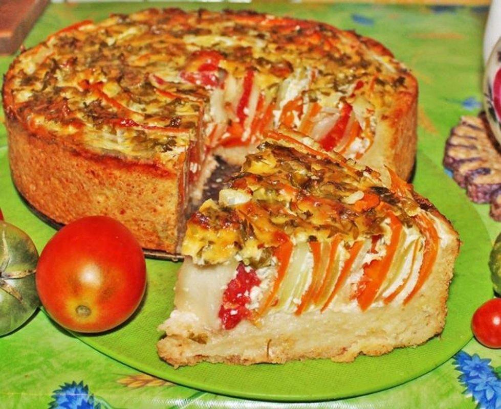 Пироги несладкие рецепты с фото простые
