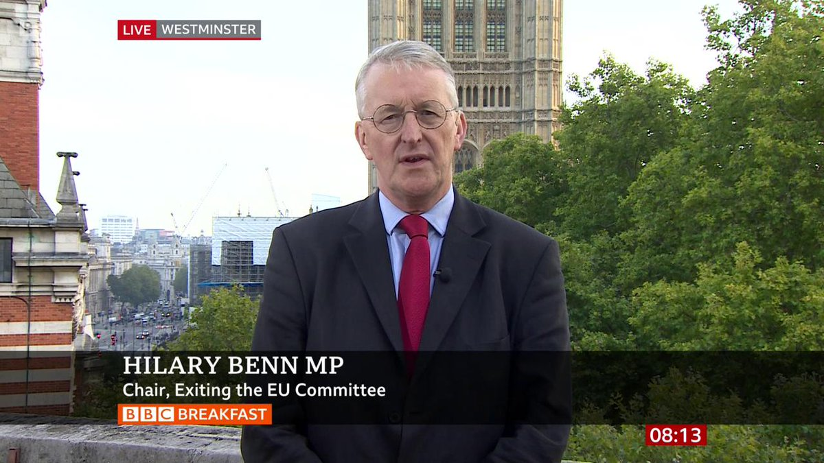 Our job as MPs is to question the government, to hold it to account, and for five weeks we wont be able to do that in Parliament, says Labours Hilary Benn bbc.in/2m6y4PH #Brexit