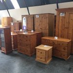 Image for the Tweet beginning: Lots of #pine furniture at