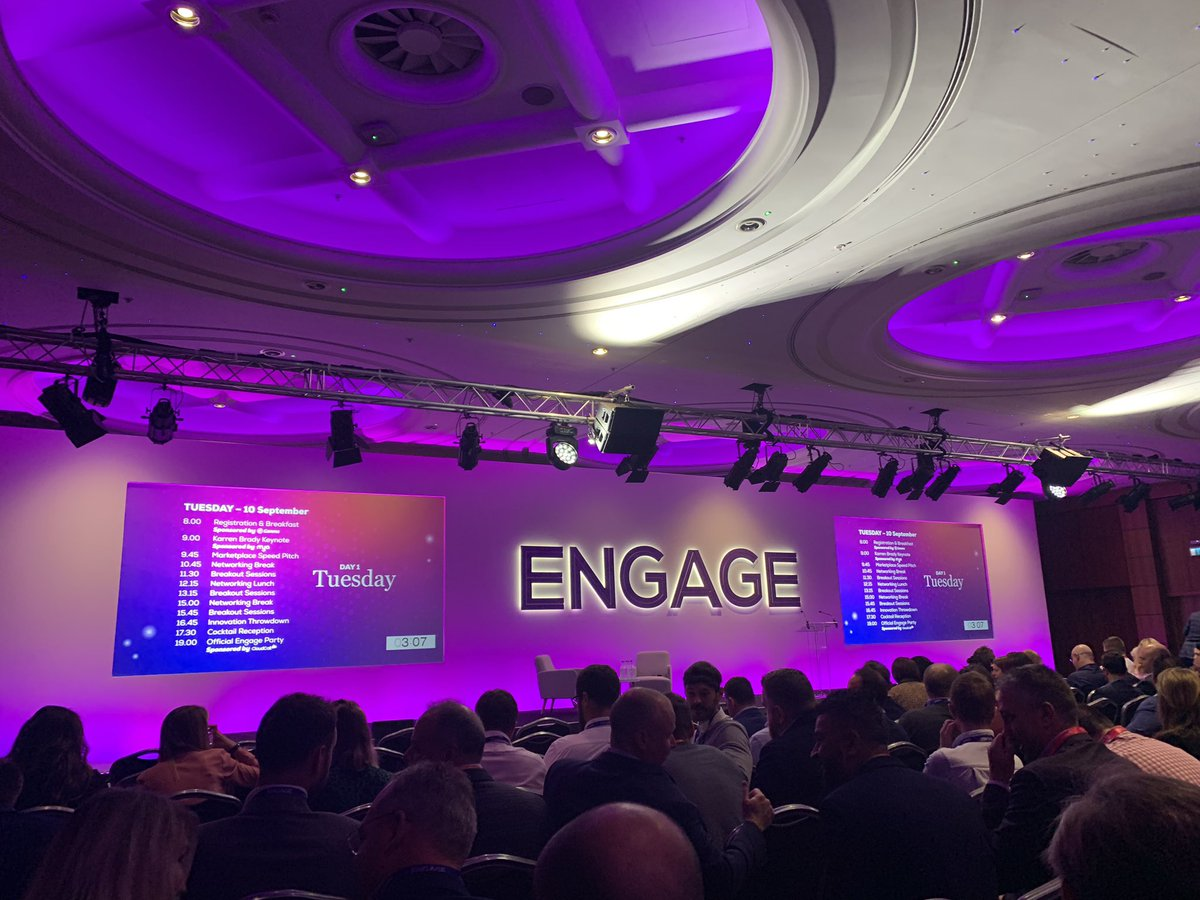 We're at Bullhorn Engage today to find out about the new and exciting features the system has to bring. Looking forward to hearing keynote speaker @karren_brady open this years conference. #engagewithsense #workwithglee <br>http://pic.twitter.com/qfUNJZz08y