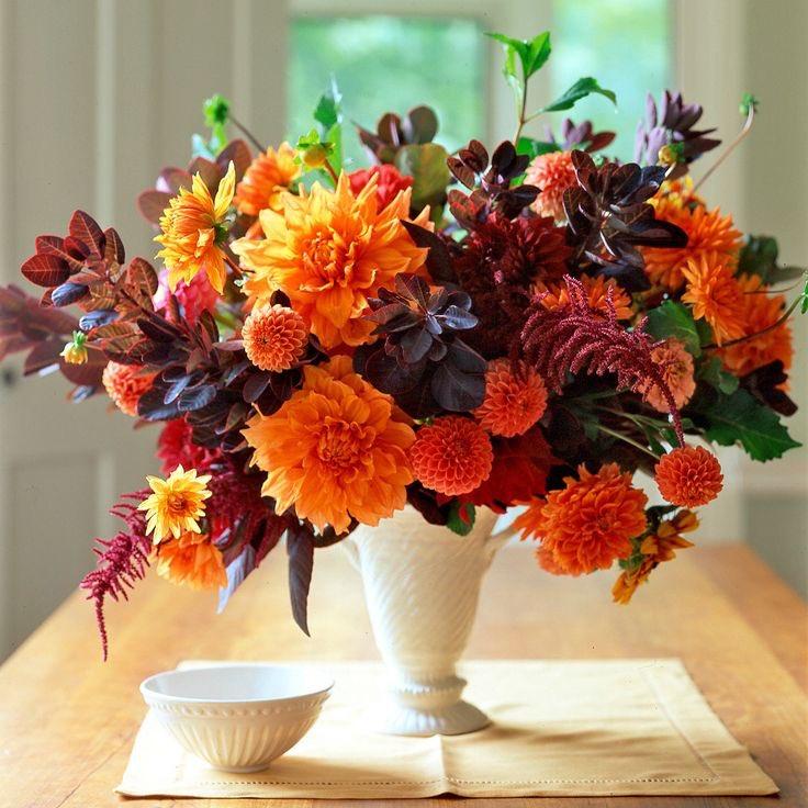 Букеты осени из цветов фото красивые, доставка букетов конфет