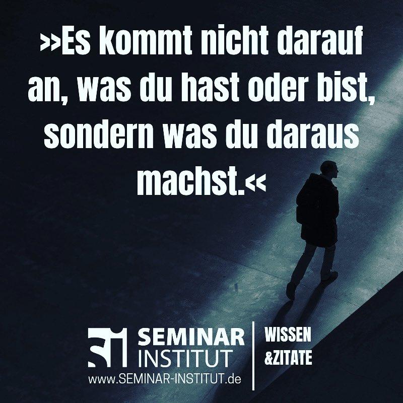 Seminar Institut على تويتر Mach Was Daraus Https T Co