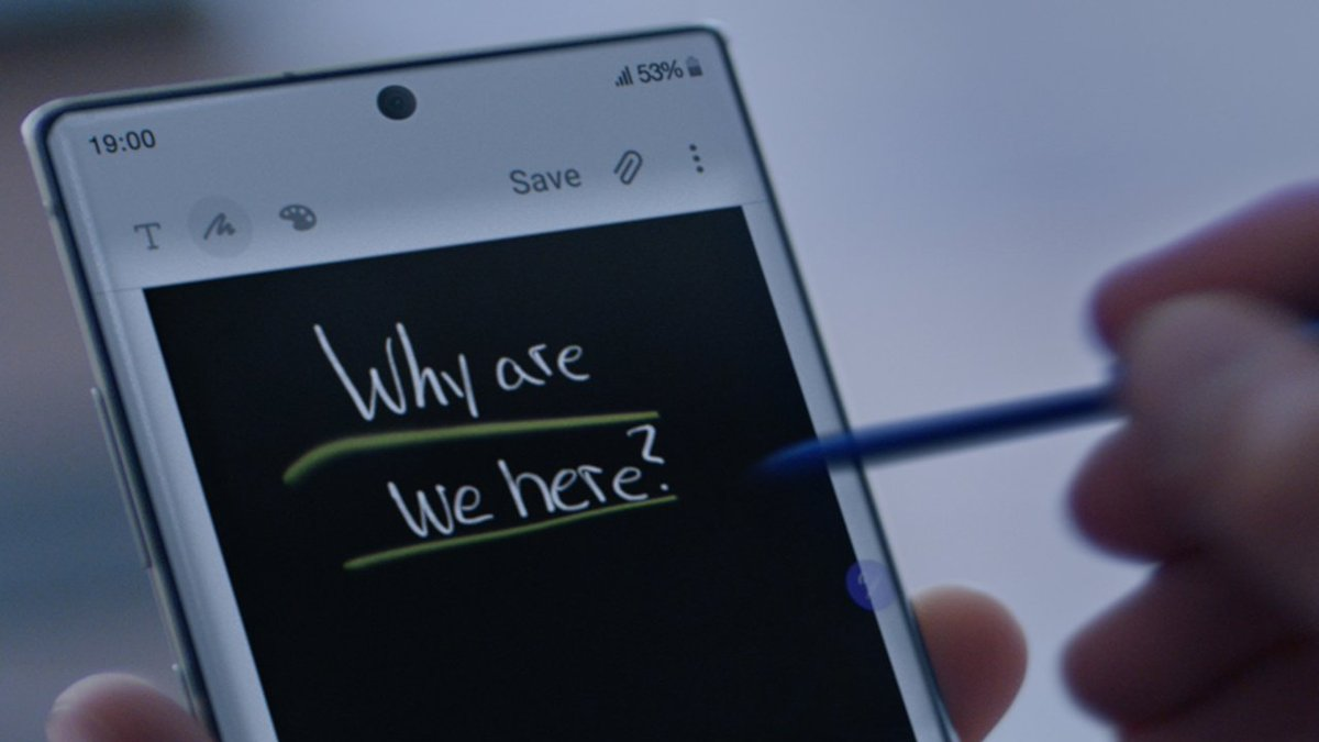 Outlast every meeting with 24-hour battery life on the #GalaxyNote10.Learn more: http://smsng.co/GalaxyNote10_tw