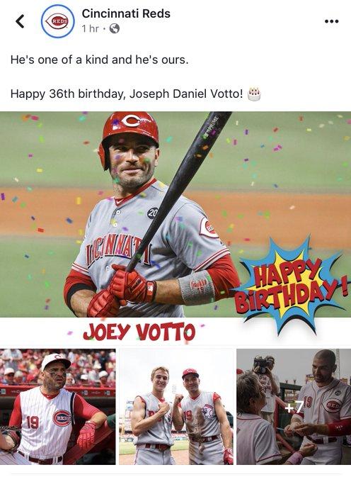 Happy Birthday Joey Votto