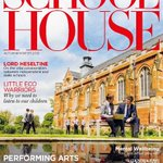 We're delighted to be featured on the cover of the latest edition of @School_HouseM, with a stunning photo by Hugo Burnand of the Chapel and Memorial Gardens. There's an article by the school's Headmaster James Priory, too, on the nature versus nurture debate. @gardens_school