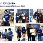 Image for the Tweet beginning: Airport Welcome staff assisting arriving
