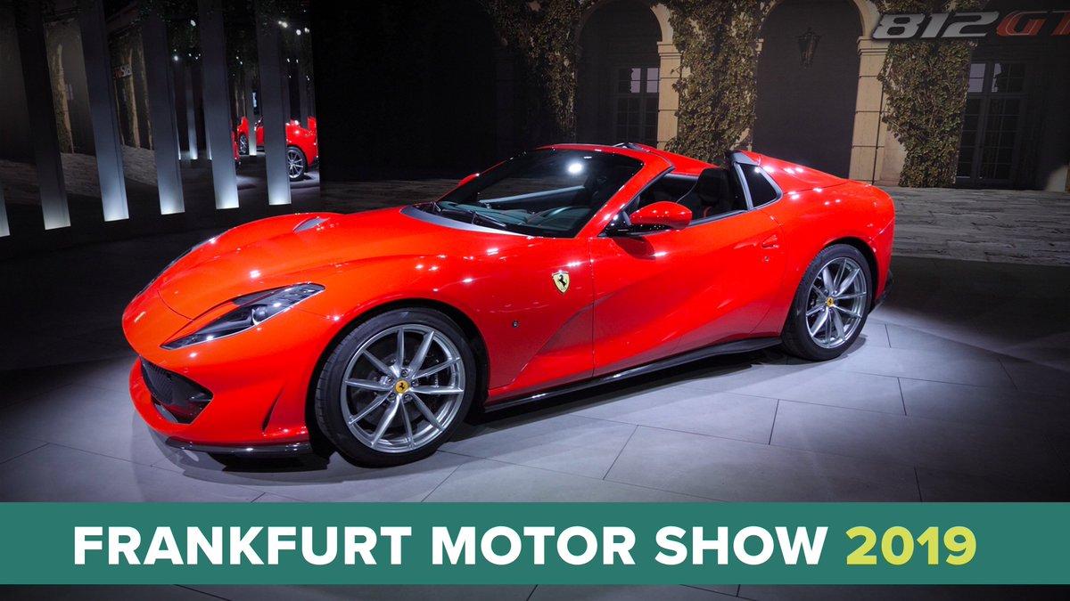 Image for the Tweet beginning: Drop-top Ferrari 812 GTS unveiled...