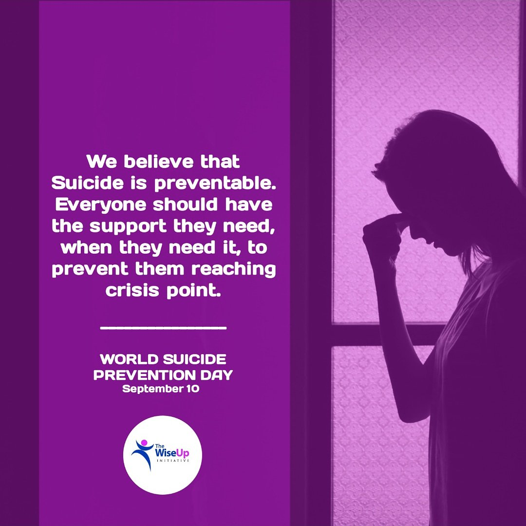Every #40Seconds, someone somewhere will die by suicide. We believe that people living with suicidal thoughts should be able to get help when they reach out. Today is #WorldSuicidePreventionDay , this is all we hope for. Please reach out to @MentallyAwareNG if you need help.<br>http://pic.twitter.com/nJTU4BOxrJ