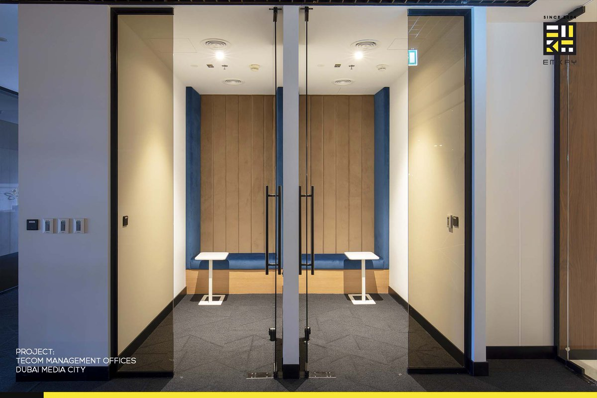 Emkay Interiors On Twitter The Tecom Group Management Office Is A Major Corporateproject Completed By Emkay Interiors As Well As One Of The Projects Shortlisted For The Interior Fitout Project Of The