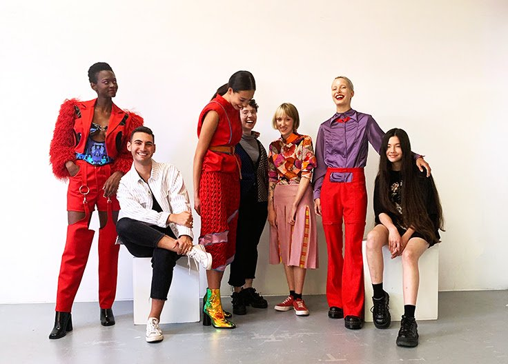 Ryerson Fcad On Twitter The Suzanne Rogers Fashion Institute Ryersonfashion Fashioncanada New Fellows Create 5 Sensational Separates Inspired By The Made For All Maybellinecan Lipstick Line With A Focus On