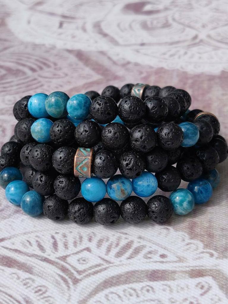 #mensjewelery #malabeads #yoga #mensfashion Excited to share the latest addition to my #etsy shop: MEN'S MALA BRACELET with Volcanic Lava Rock, Apatite, 108 Mala Beads, Men's Yoga Wear, Men's Jewellery, Yoga Fashion, Yoga Gift, Bohemian https://etsy.me/305jkz5pic.twitter.com/yjskwfSoNx