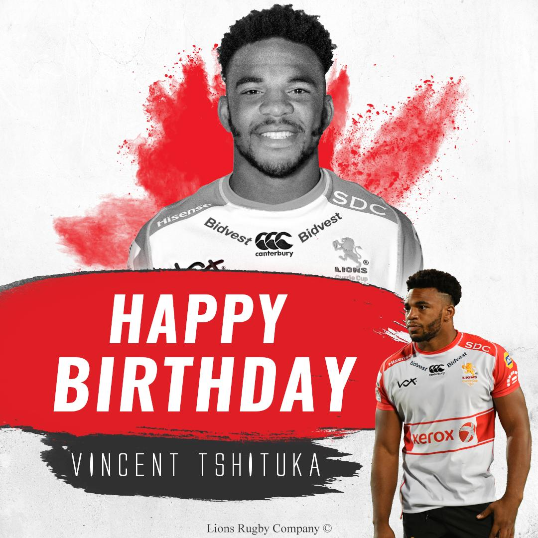 Happy 21st birthday to Xerox Golden Lions player, Vincent Tshituka! We hope you have the best day. #LionsPride