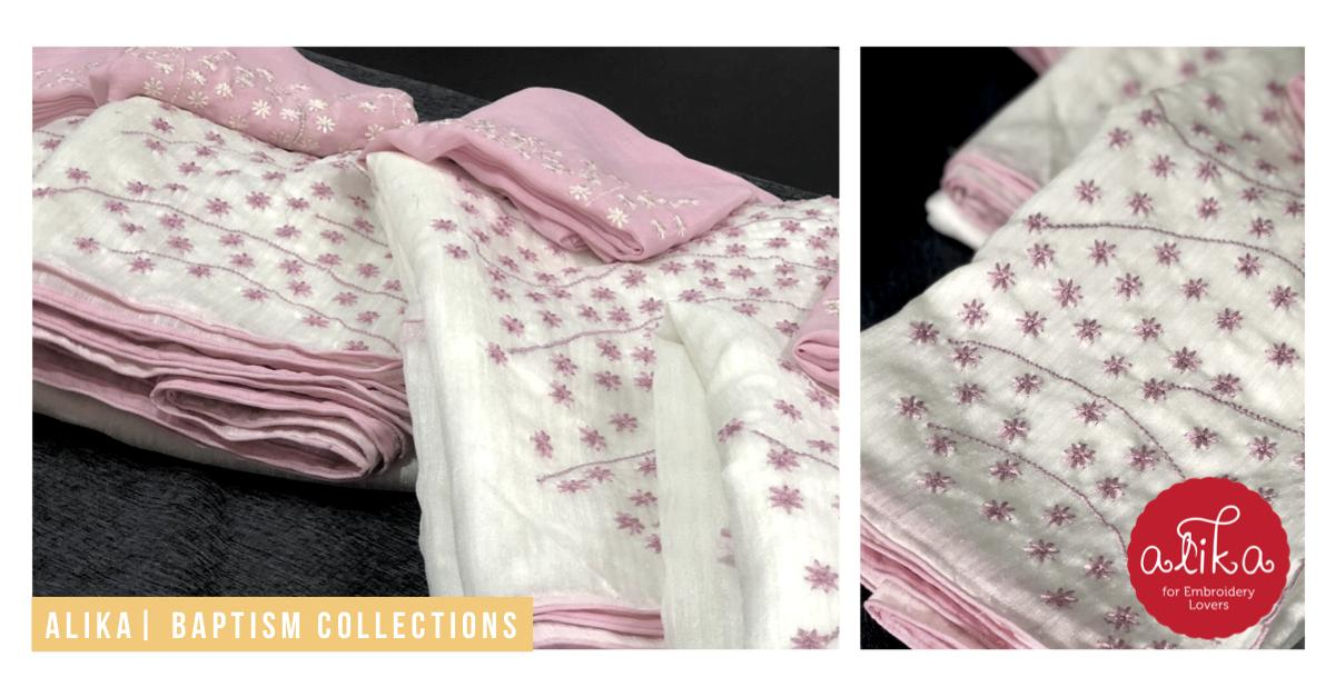 Alika On Twitter Customized Baptism Theme Saree For A Client In