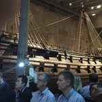 Image for the Tweet beginning: .@euromat2019 conference dinner @thevasamuseum in