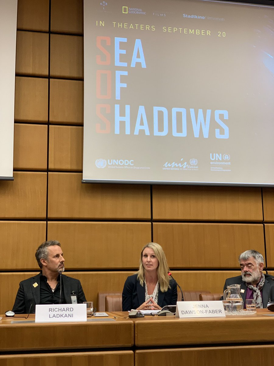 #SeaofShadows shows #wildlifecrime has significant adverse ecological, social & economic impact.  UNODC works with countries around the globe  to address these transnational problems.  Learn more   https://www. unodc.org/unodc/en/wildl ife-and-forest-crime/index.html  …    #EndWildlifeCrime<br>http://pic.twitter.com/fwRMzLxt2x
