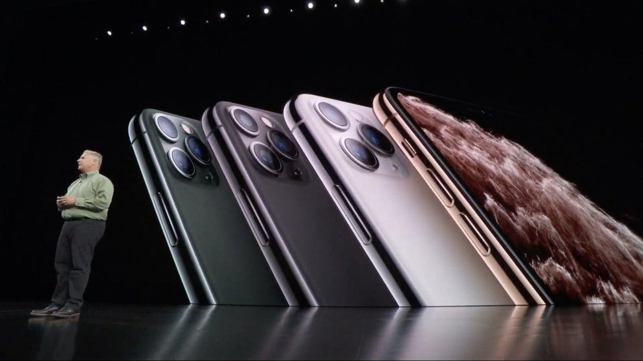 iphone pro release at apple event