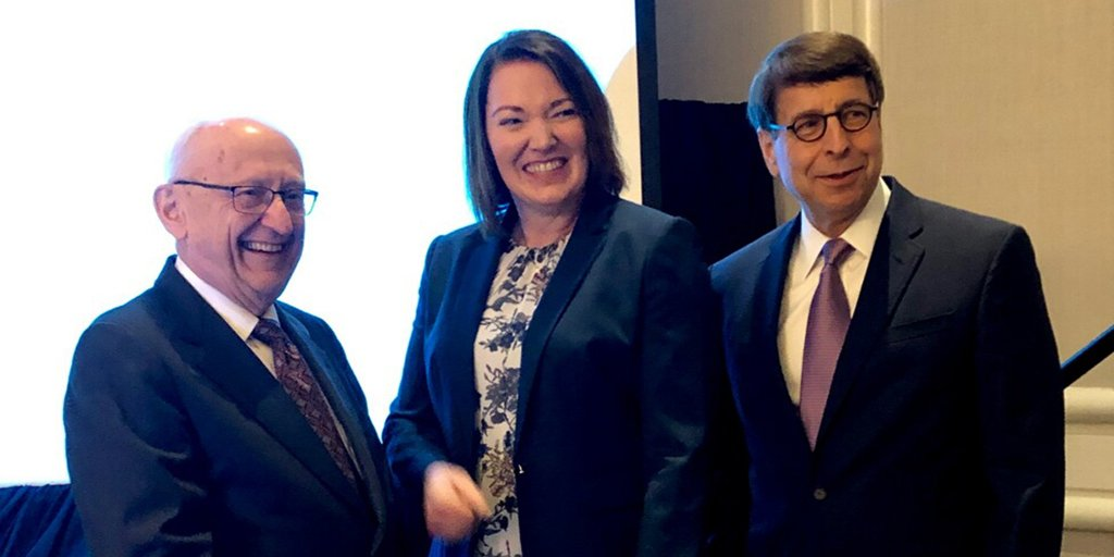 In recognition of her leadership in addressing drug shortages and #drugpricing, Erin R. Fox, Pharm.D., BCPS, FASHP, of @UofUHealth, presented the annual William A. Zellmer Lecture today in D.C.  https:// go.ashp.org/2kD9PIq      #4OurPatients <br>http://pic.twitter.com/AUctwK7d01