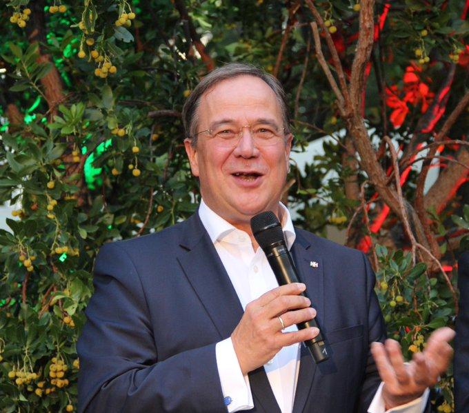NRW MP: ArminLaschet  auf dem Sommerfest in der Botschaf