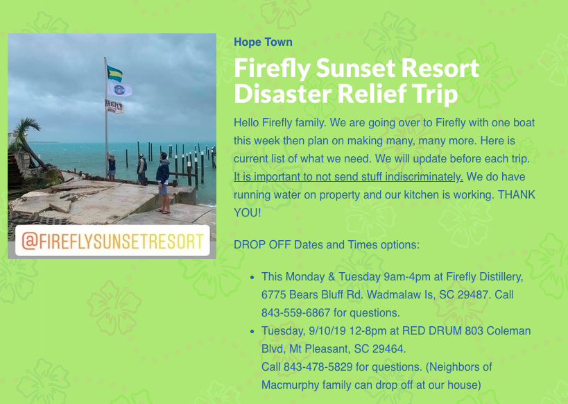 Firefly Resort Abaco Firefly Resort Twitter