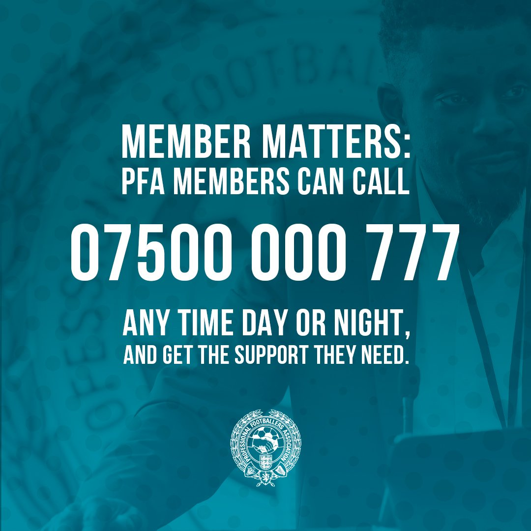 To help prevent suicide, we need to have more conversations about mental health, its important to talk. The PFA offers round-the-clock support to all members past and present, as well as concerned friends and family. #WorldSuicidePreventionDay #WSPD2019