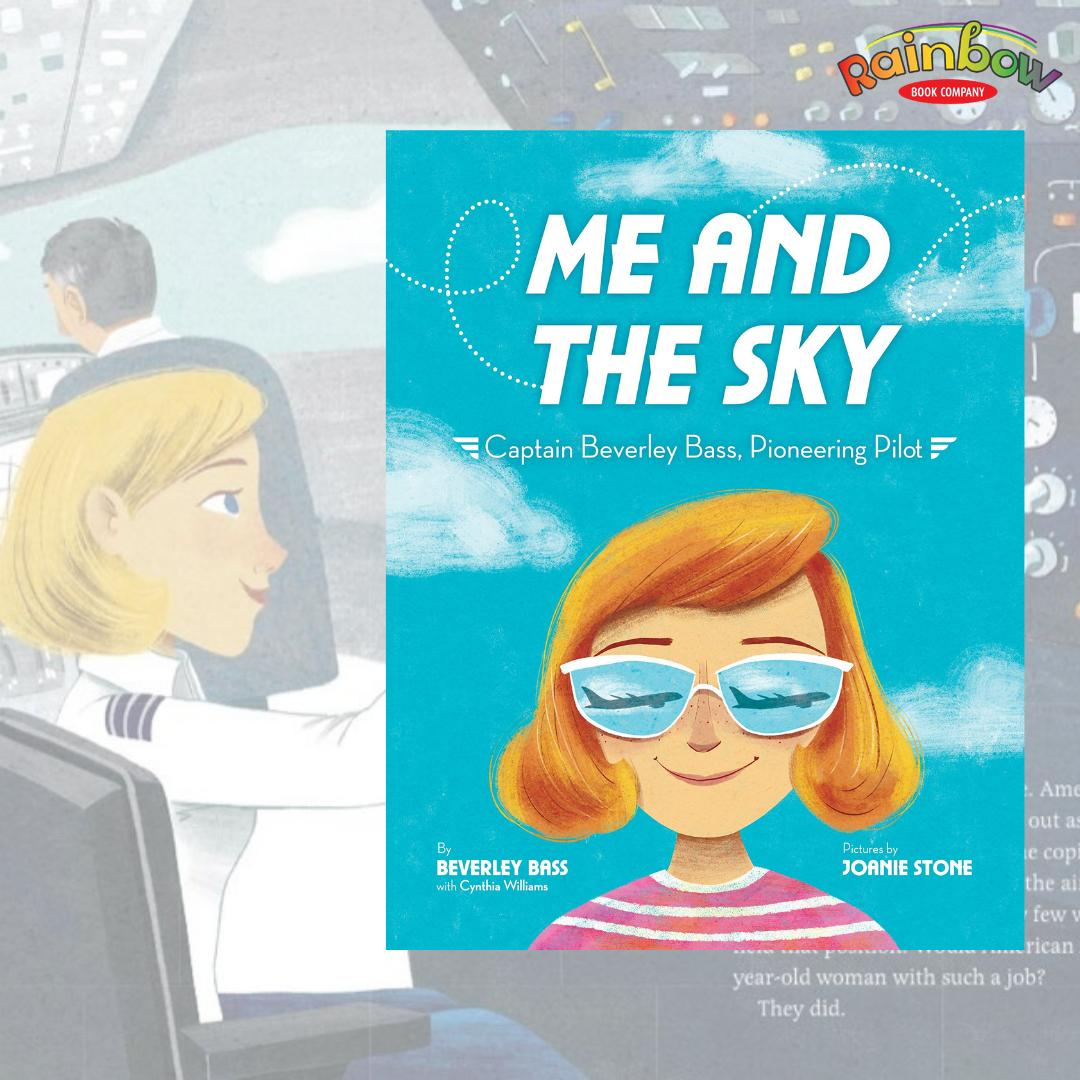 Happy #BookBirthday to Me and the Sky by Beverly Bass! Follow along as Beverly went from an ambitious young girl gazing up at the sky to a groundbreaking pilot smiling down from the cockpit. @jetsflygirl @randomhousekids