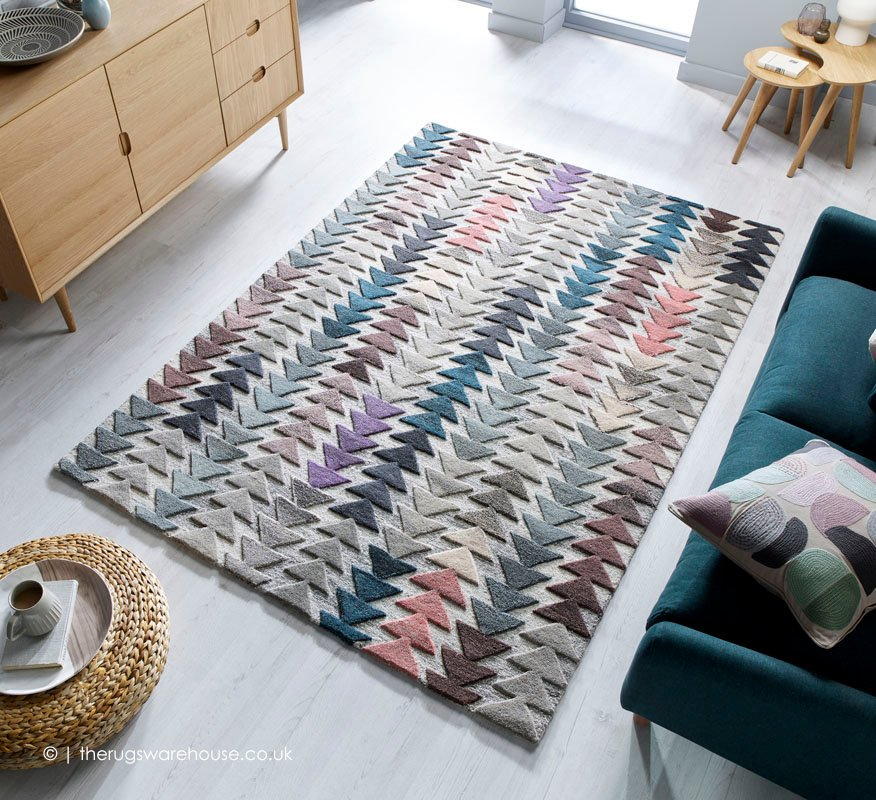 New In Our Showroom Moda Archer Rug A Hand Tufted Pure