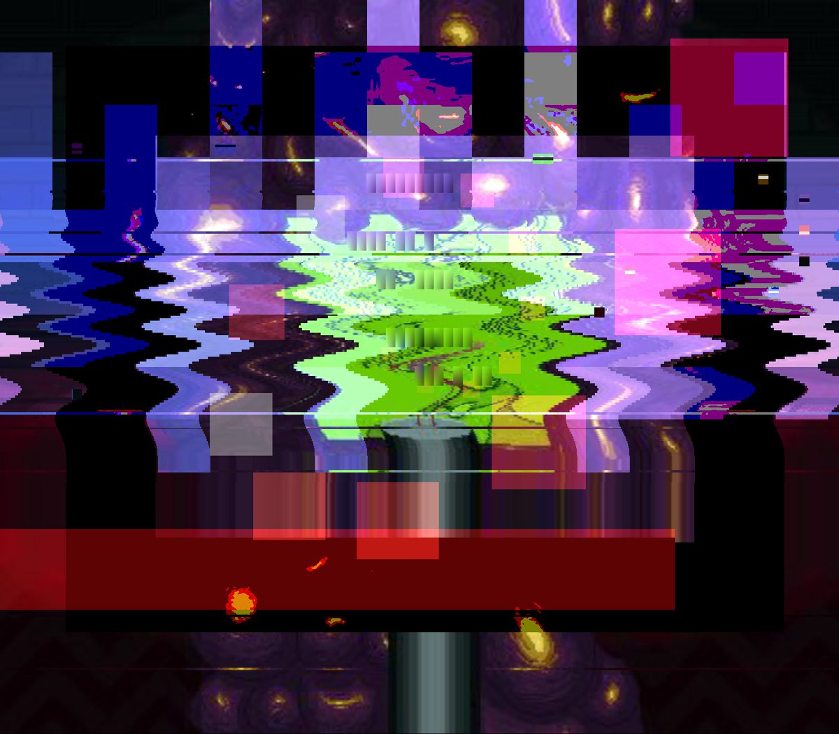 😁🎫 glitch pixelart indiedev animation nodejs geometricart bot rosace Origin img by @weaboosdream