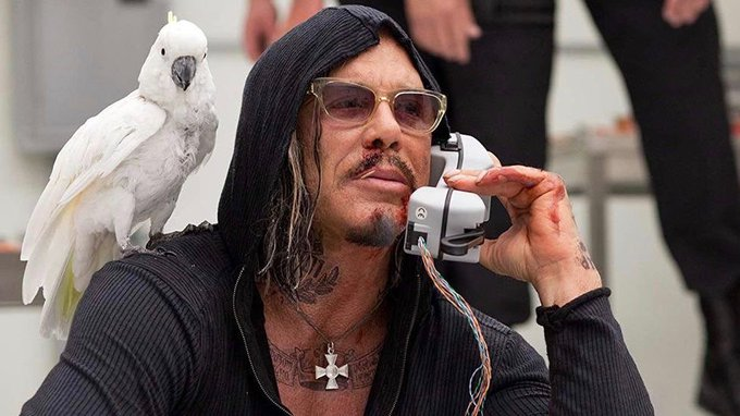 Happy 67th Birthday Mickey Rourke! I always thought I\d accomplish something special. Like robbing a bank.
