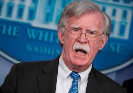 At least John Bolton can return to doing what he loves most: living in the 1800s and yelling at Huckleberry Finn