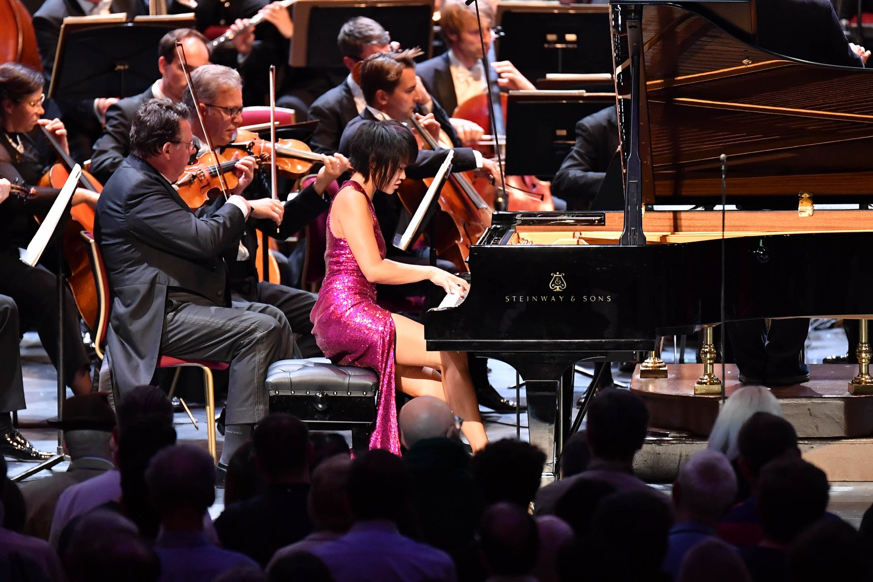 loved playing with the @StaatskapelleDD and Maestro Chung. It was fun to revisit Rachmaninov #3 with them. It was a highlight to listen to their Brahms Symphony No.2 in the second half of the concert, which carries such warmth of sound and humanity!