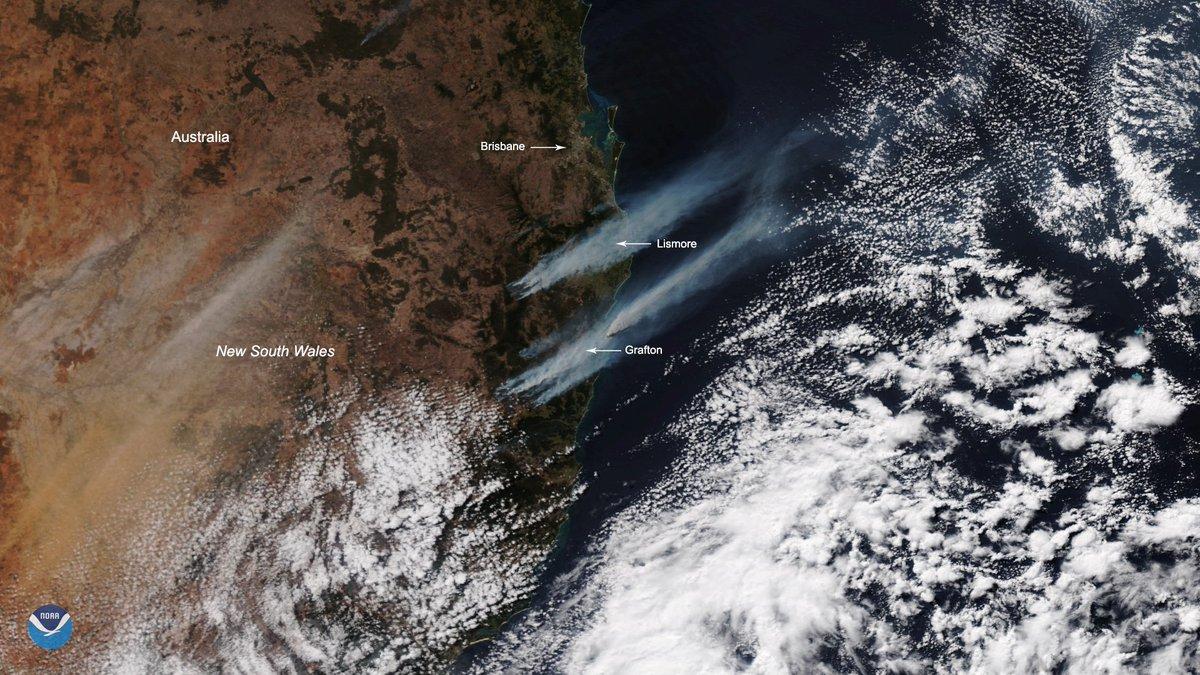 @NOAASatellites's photo on #smoke