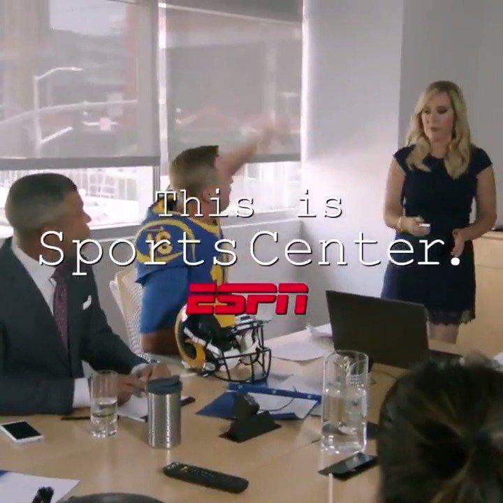 .@JaredGoff16 knows whats up 🌶️ cc: @pskills43 (via @sportscenter)
