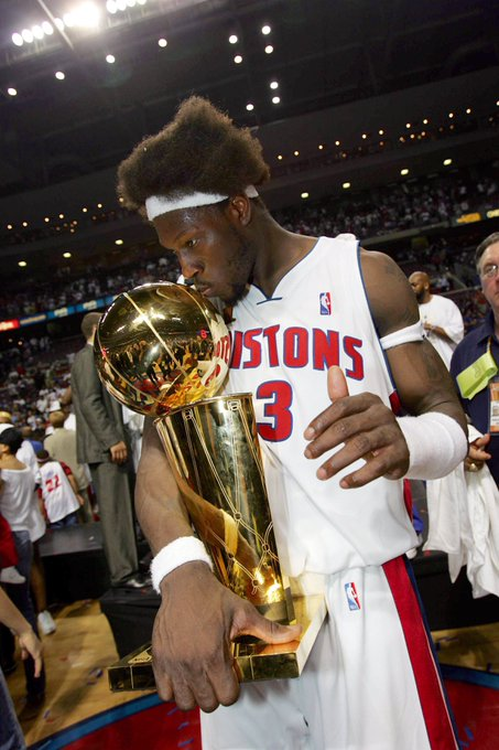 A champion & a 4X DPOY.  Happy Birthday to Ben Wallace, one of the greatest defenders of all time.