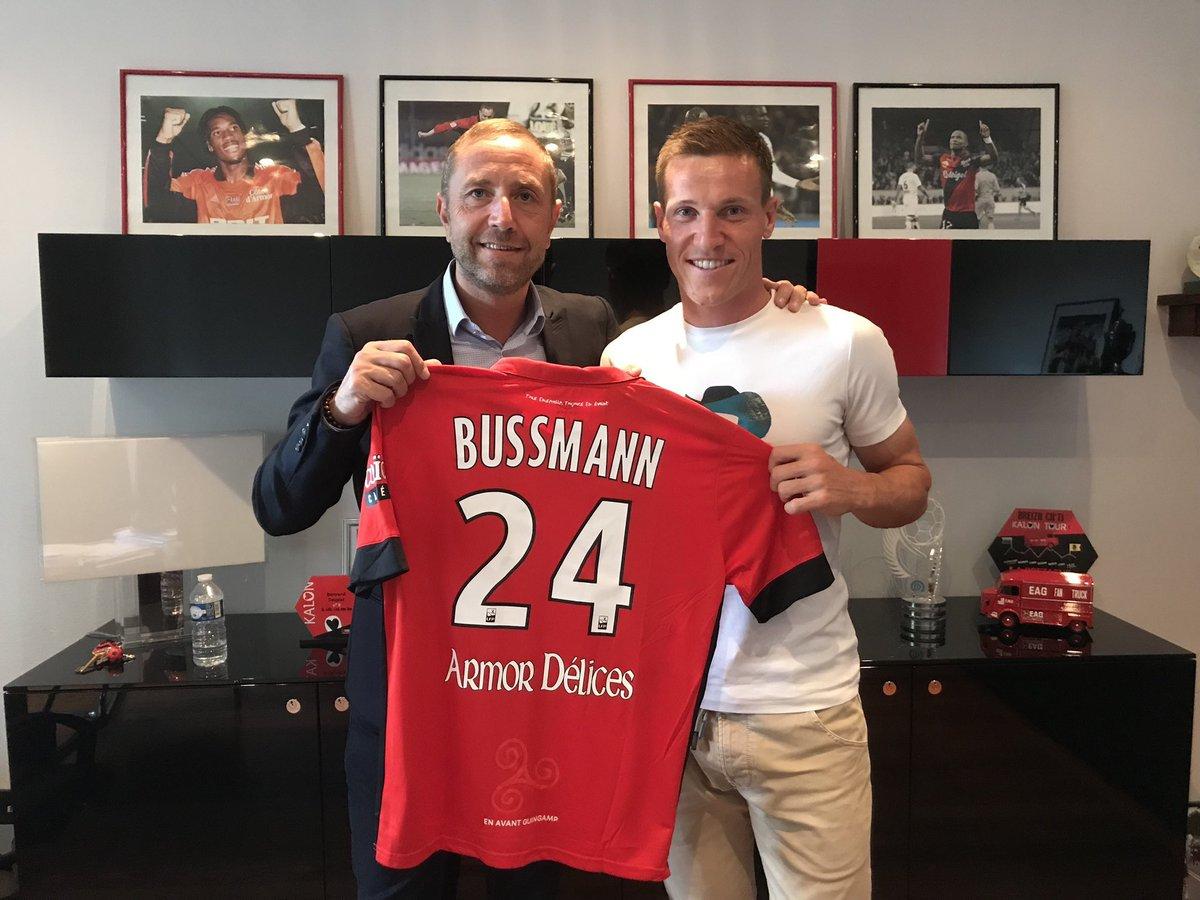 Bussmann signe à Guingamp