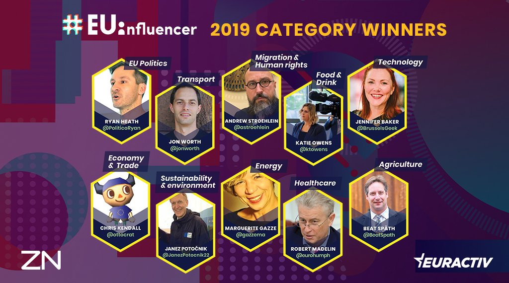 test Twitter Media - Meet the influencers. This year's #EUinfluencer class includes old faces and new, plus for the first time a group of sector-specific influencers tweeting about topics like migration, tech and sustainability. https://t.co/rF5lMEXdgV