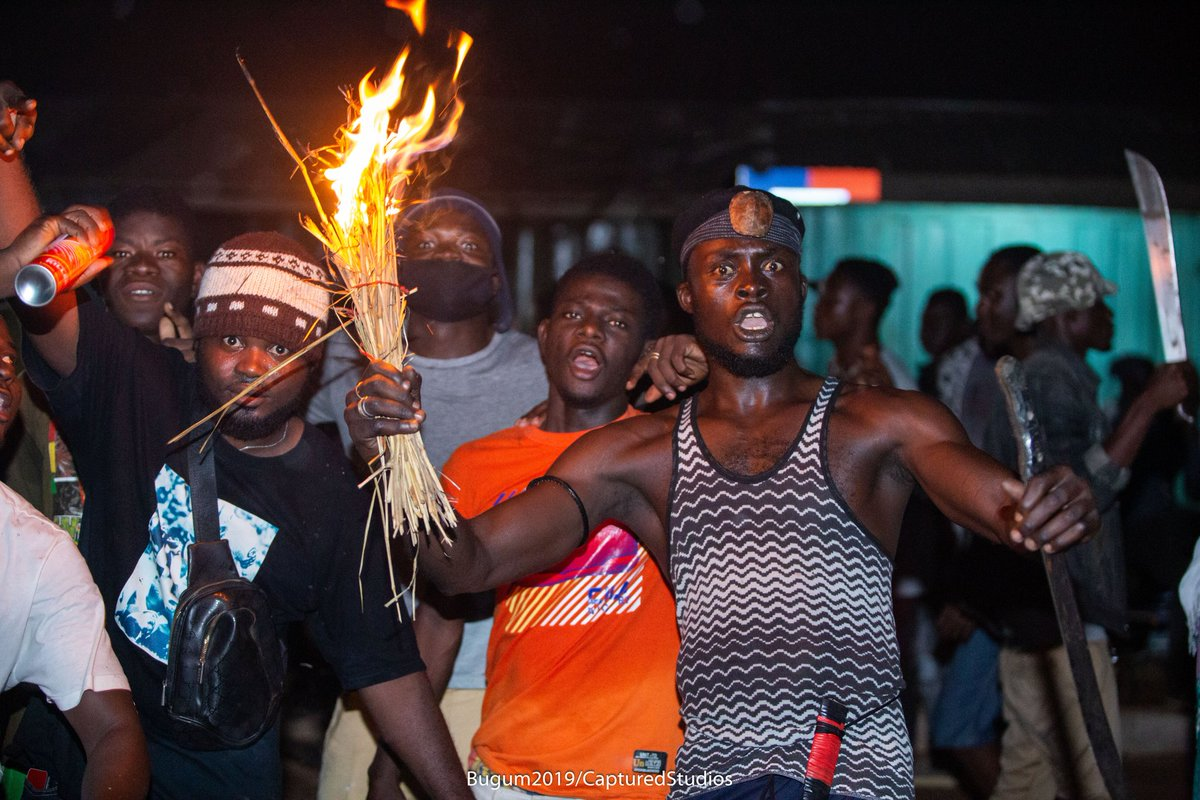 Images from the Fire Festival in @Tamale_Ghana