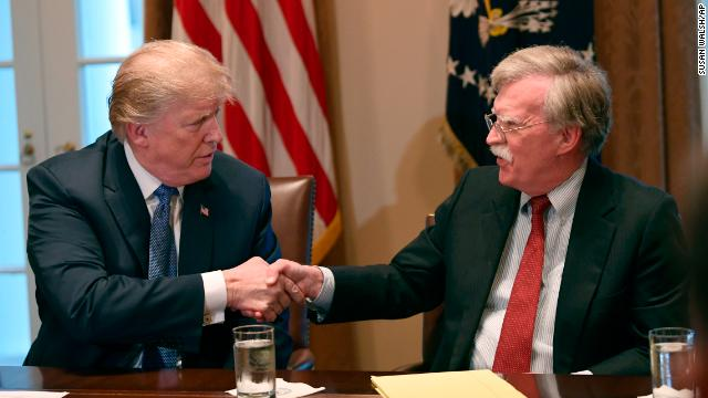 Trump and John Bolton got into a heated argument Monday, according to two people familiar with what happened, over the Presidents plan to host Taliban leaders at Camp David. Follow live updates:  https://cnn.it/2m3c7Rx