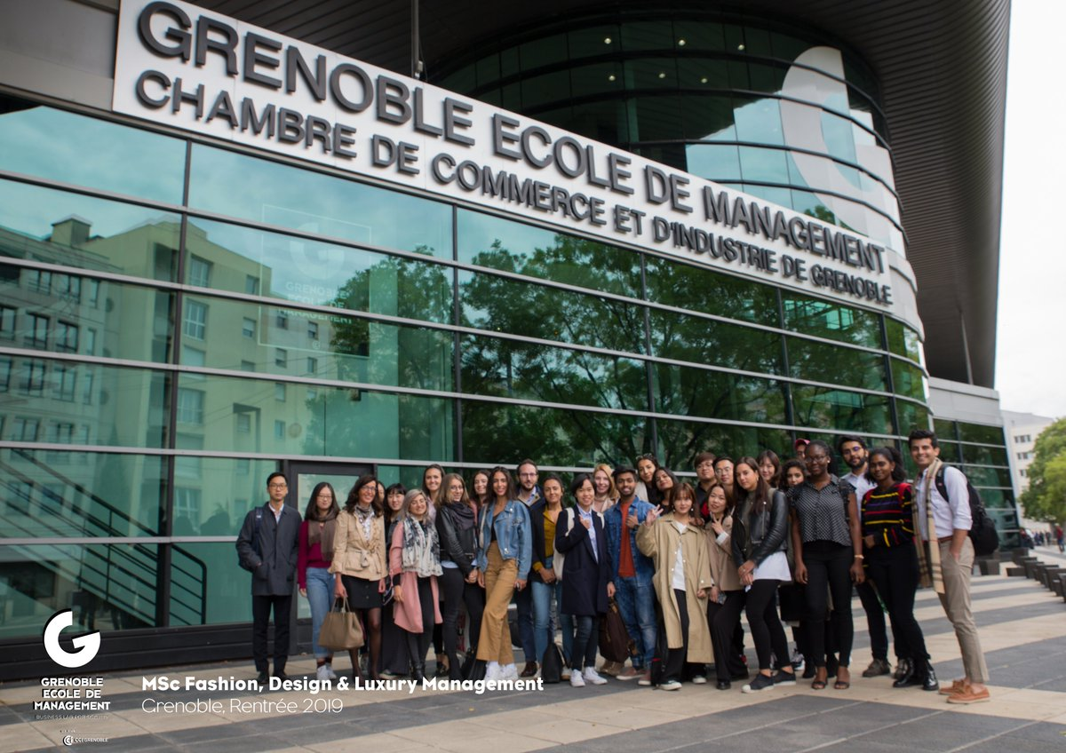 Isabelle Chaboud On Twitter So Happy To Welcome As Program Director My New Students For The Msc Fashion Design Luxury Management At Grenoble Em I Wish You A Great Year Ahead The
