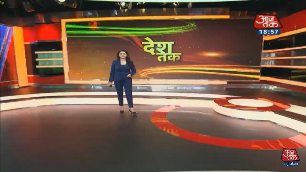 #Deshtak @chitraaum आज की नया स्ठुडियो बहुत ही शानदार है चित्रा दिदी