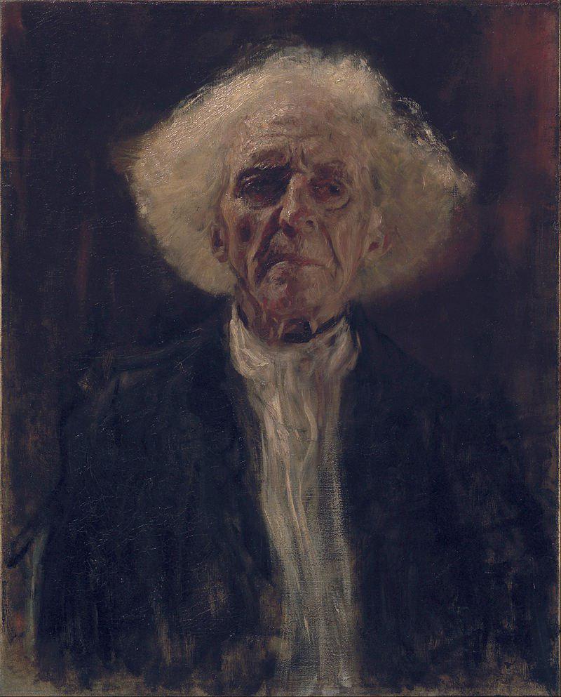 Gustav Klimt 'The blind man' 1896