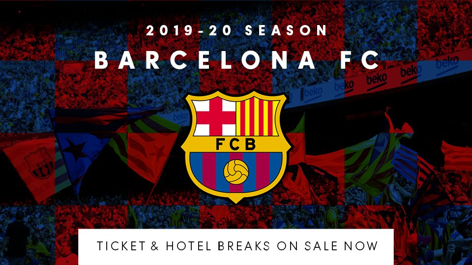 ⚽✈️🇪🇸 Witness some of the greatest players, the highest standard and exceptional passion first hand as @FCBarcelona's 2019/20 campaign gets into full swing: https://t.co/uHWe0jfb4G #laliga https://t.co/Jnx56B8J2b