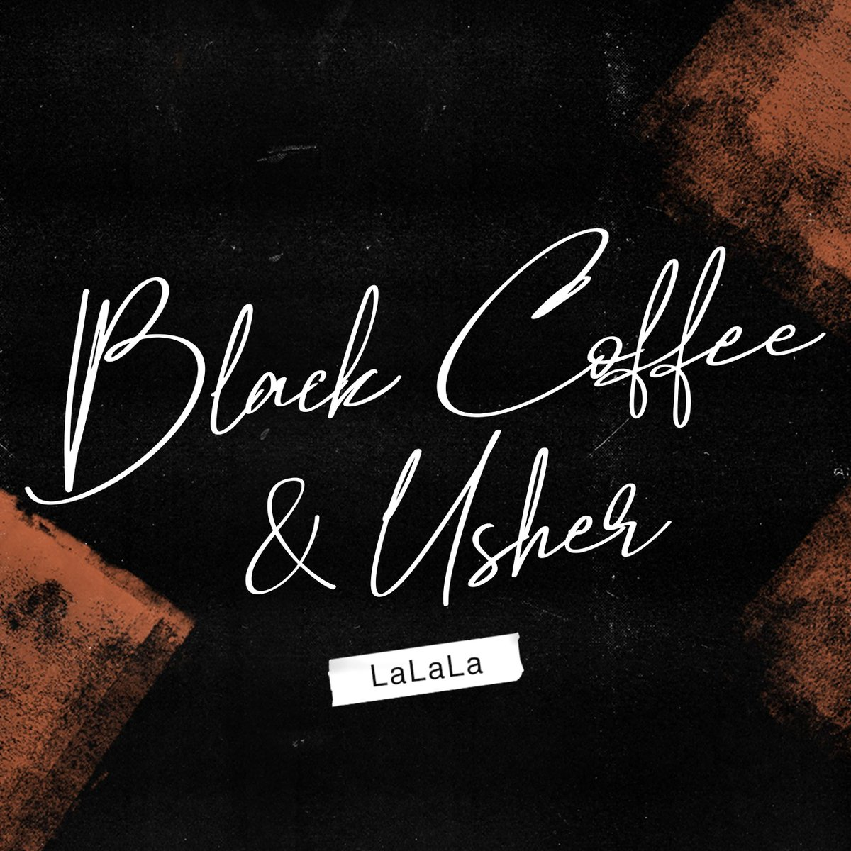 """He's back! R&B legend @Usher returns with a feature on @RealBlackCoffee's instantly addictive """"LaLaLa"""":"""