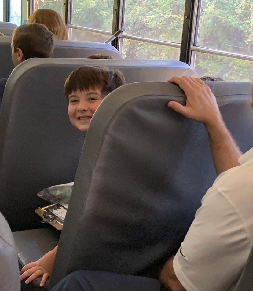 Bus rides and fun memories! @HumbleISD_DWE #dwe2020 <br>http://pic.twitter.com/fyLkE71ikW