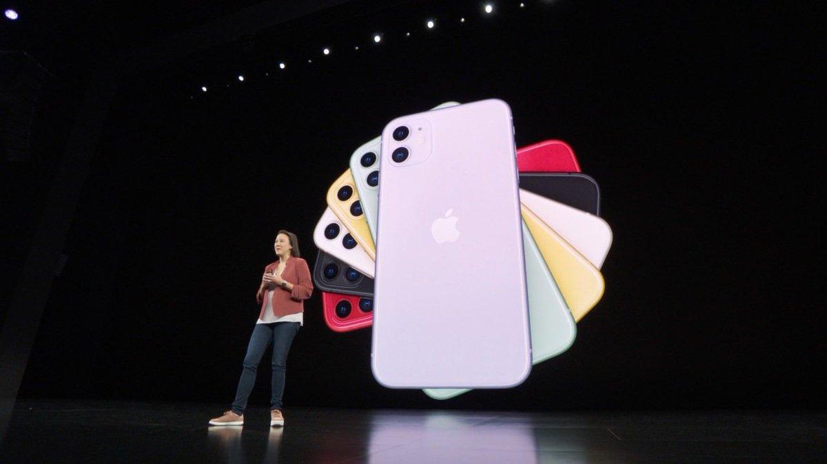 iPhoneのアップルマークは真ん中に引っ越ししました #AppleEvent