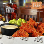 "Who loves a great deal on a meal? 👋 we do! Try $15 for an appetizer, entree, and dessert at Tilted Kilt Pub and Eatery during Cobb Restaurant Week 2019. Check out all of their delicious options including their ""Bad Arse Brussels"" on our website: https://t.co/pbaylOQ7Xk"