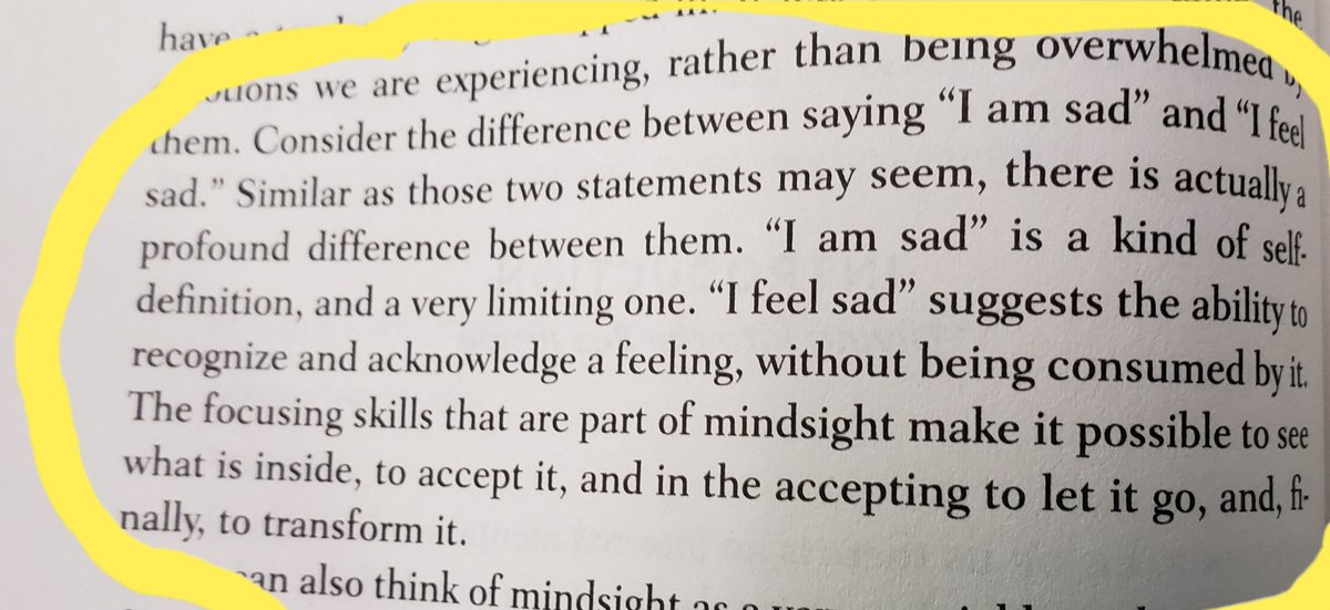 Digging into Mindsight by my FAVE author @DrDanSiegel !! Reframe! #SEL
