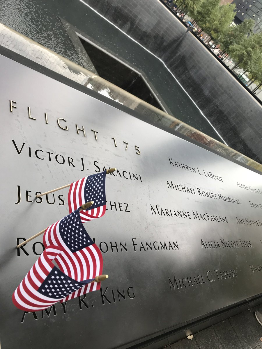 #icanhearyou #NeverForget #911Memorial https://t.co/aHp29ZTeRn https://t.co/WtgPCiFeA6