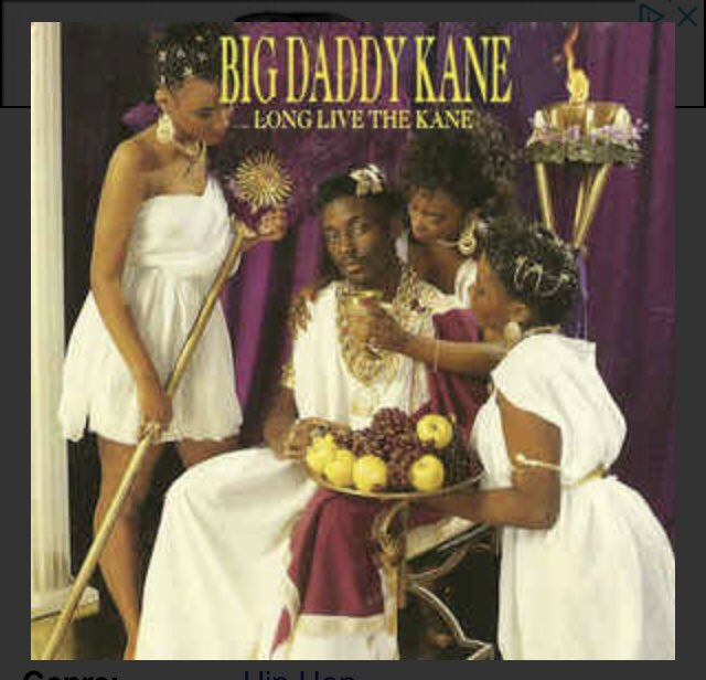 Happy Birthday To Simply One Of The Greatest To Ever Touch A Mic! Big Daddy Kane