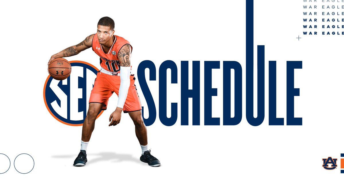 Auburn Basketball On Twitter You Know The Opponents Now